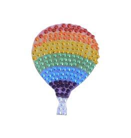 Sticker Beans Rainbow Gradient Hot Air Balloon