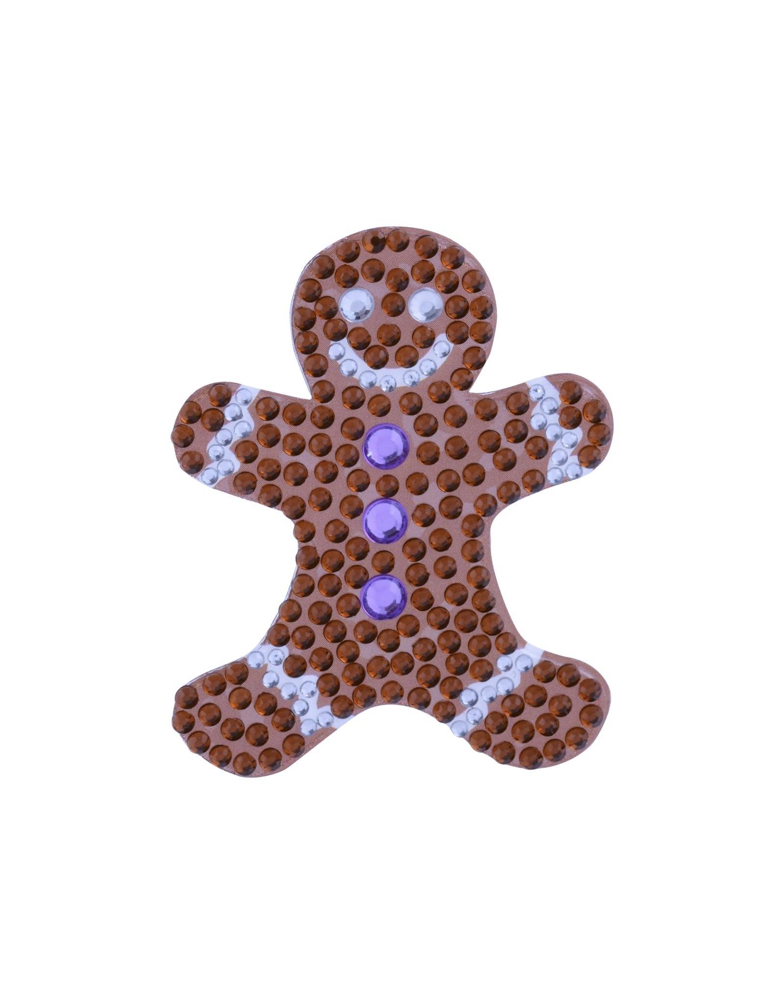 Sticker Beans Gingerbread Man