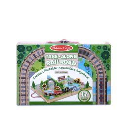 Melissa & Doug Take Along Railroad & Town