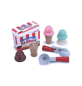 Melissa & Doug Scoop & Stack Ice Cream Set