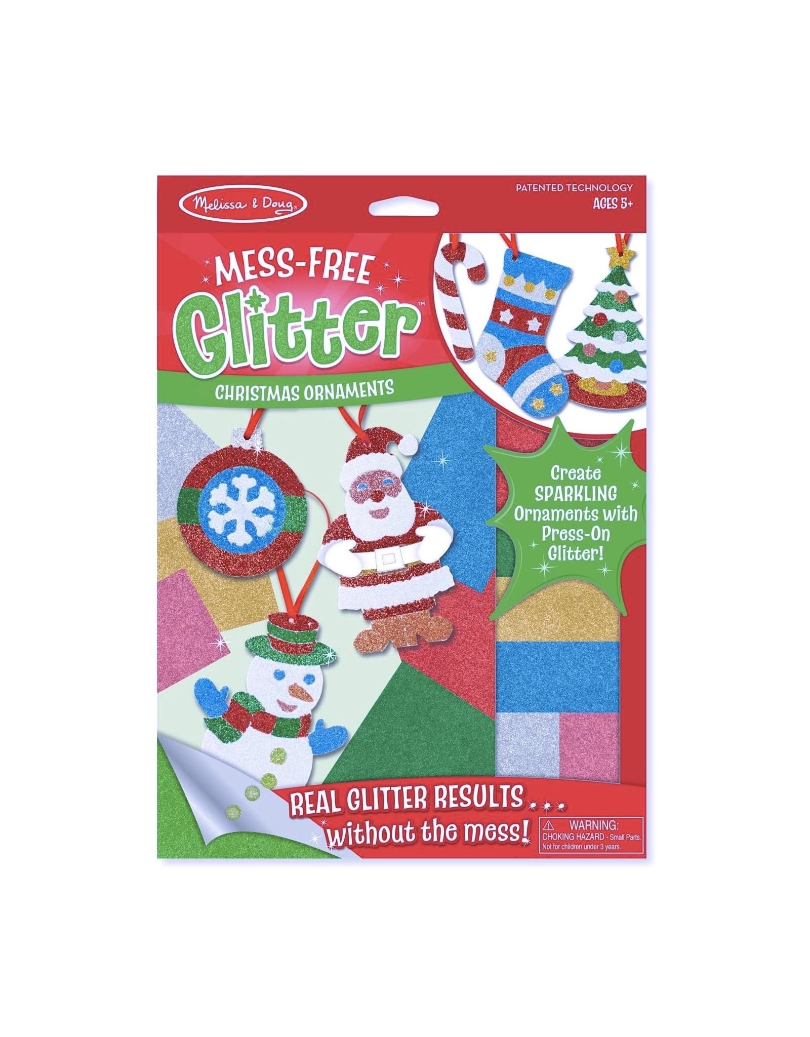 Melissa & Doug Mess-Free Glitter- Christmas Ornament
