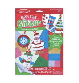 Melissa & Doug Mess-Free Glitter- Christmas Ornament
