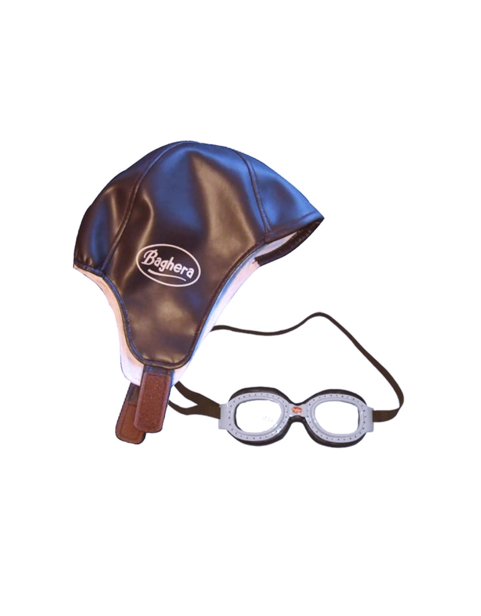 Playforever Playforever Vintage Racing Cap and Goggles