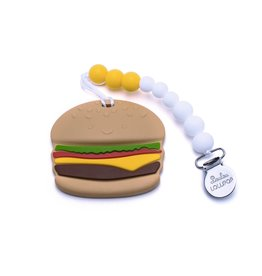 Lou Lou Lollipop Burger Silicone Teether