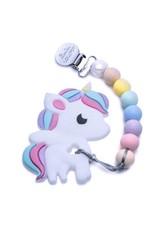 Lou Lou Lollipop Rainbow Unicorn Teether