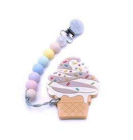 Lou Lou Lollipop Chocolate Ice Cream Teether