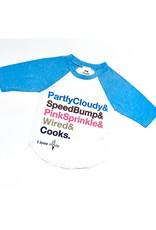 Kid crush I Love A La Mode Shoppe Kids Shirt Blue