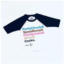 Kid crush I Love A La Mode Shoppe Kids Shirt Black