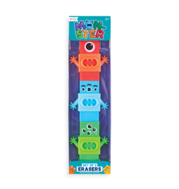 OOLY Monster Erasers set of 3
