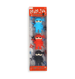 OOLY Ninja Erasers set of 3