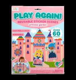 OOLY Play Again! Reusable Sticker: Princess Garden