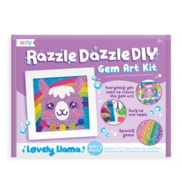 OOLY Razzle Dazzle D.I.Y. Gem Art Kit: Lovely Llama