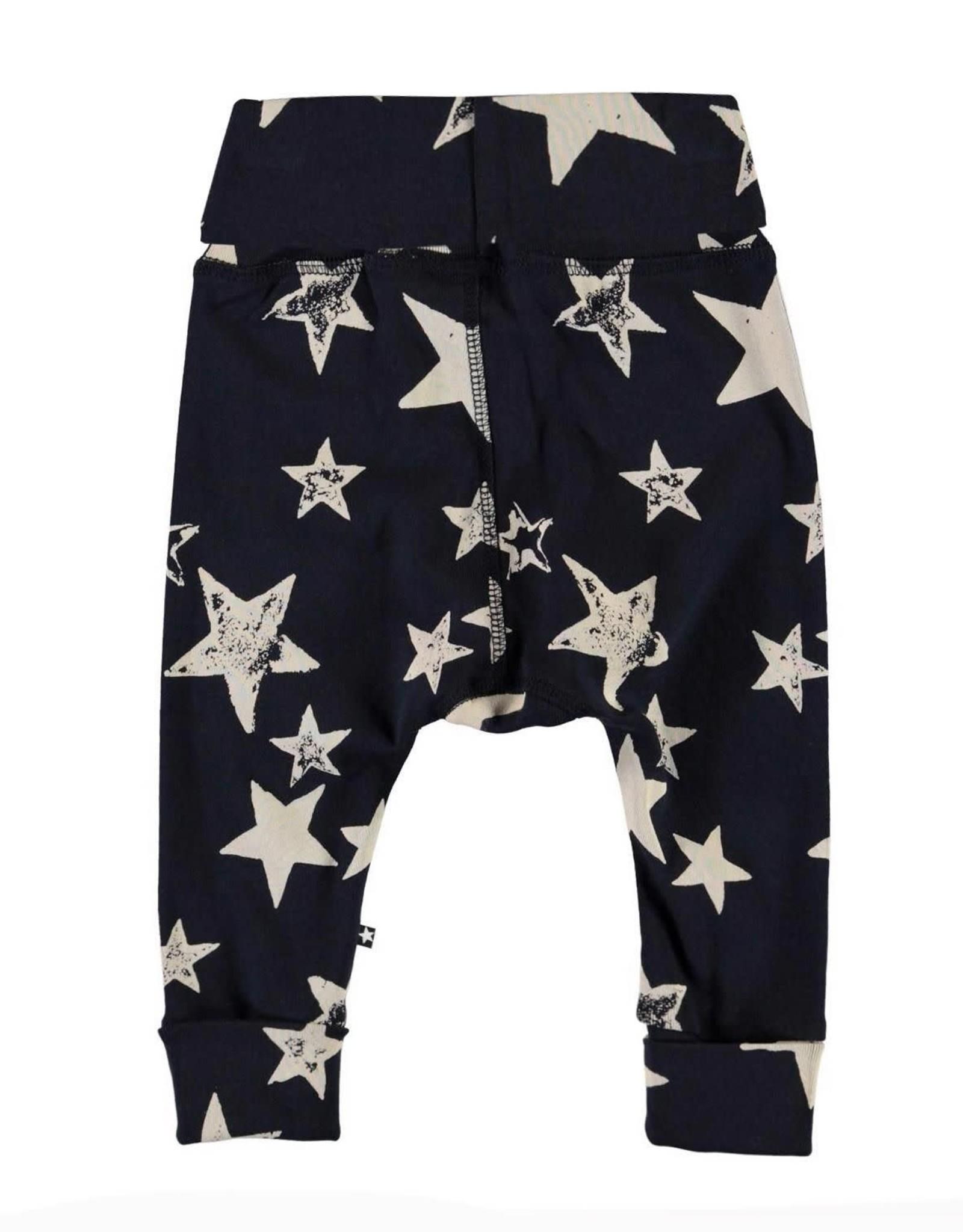 Molo Son White Navy Star Pants