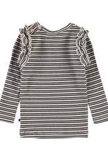 Molo Emma Blossom Black Stripe Shirt