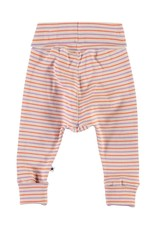 Molo Sara Purple Orange Stripe Pants