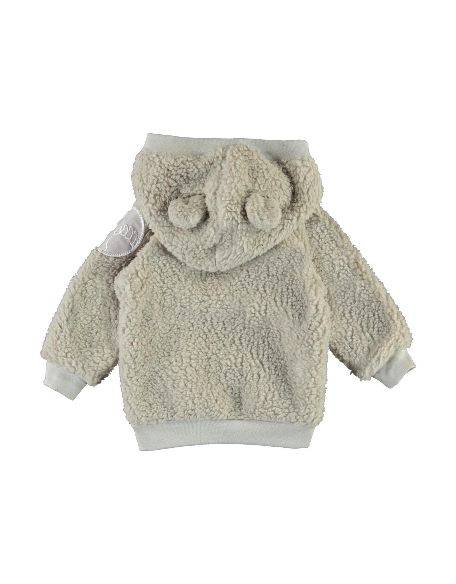 Molo Ummi Dark White Fleece Jackets