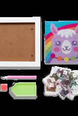 OOLY Razzle Dazzle D.I.Y. Gem Art Kit: Lovely Llama