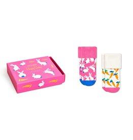 Happy Socks Bunny Socks Gift Set 0-6m