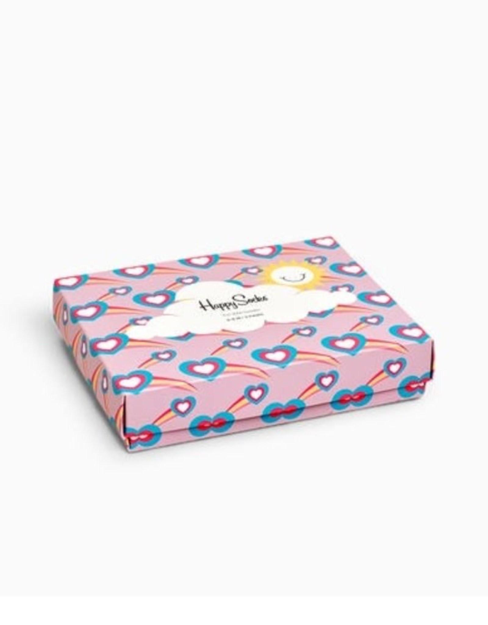 Happy Socks Heart socks gift set 0-6m