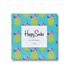 Happy Socks Pineapple socks gift set 0-12m