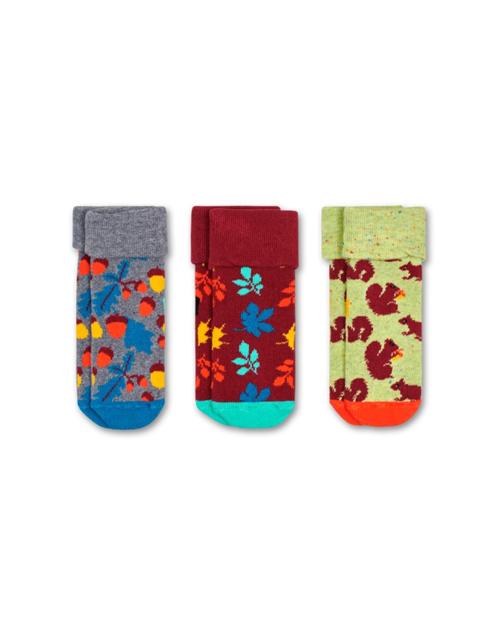 Happy Socks Nuts & a squirrel socks 0-6m