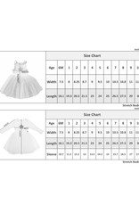 Petite Hailey Star Tutu Dress White
