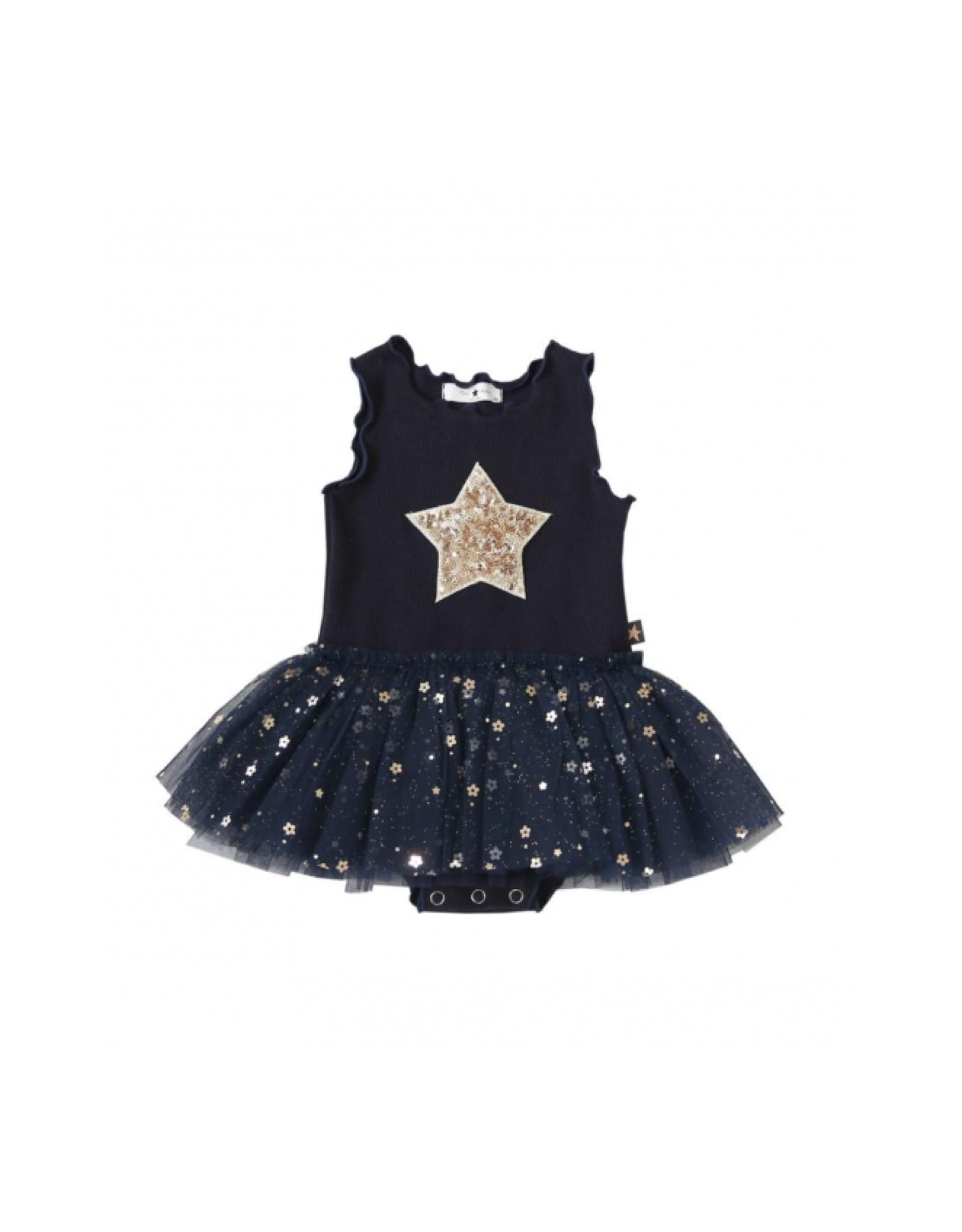 Petite Hailey Baby Daisy Star Tutu Navy