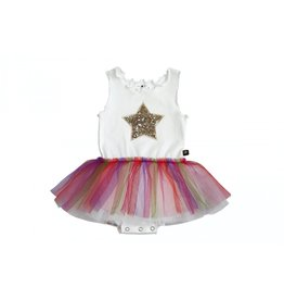 Petite Hailey Baby Rainbow Star Tutu