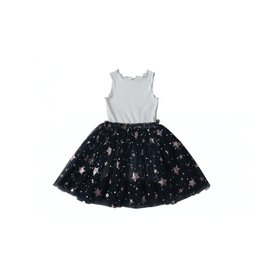 Petite Hailey Aurora Sparkle Tutu Dress