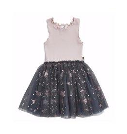 Petite Hailey Pink/Gray Sparkle Tutu