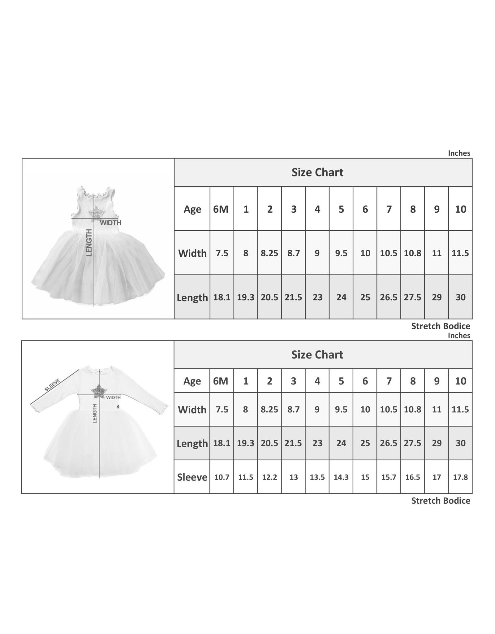 Petite Hailey Aurora Sparkle Tutu Dress
