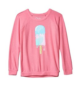 Chaser Brand Drippy Ice Cream Pullover