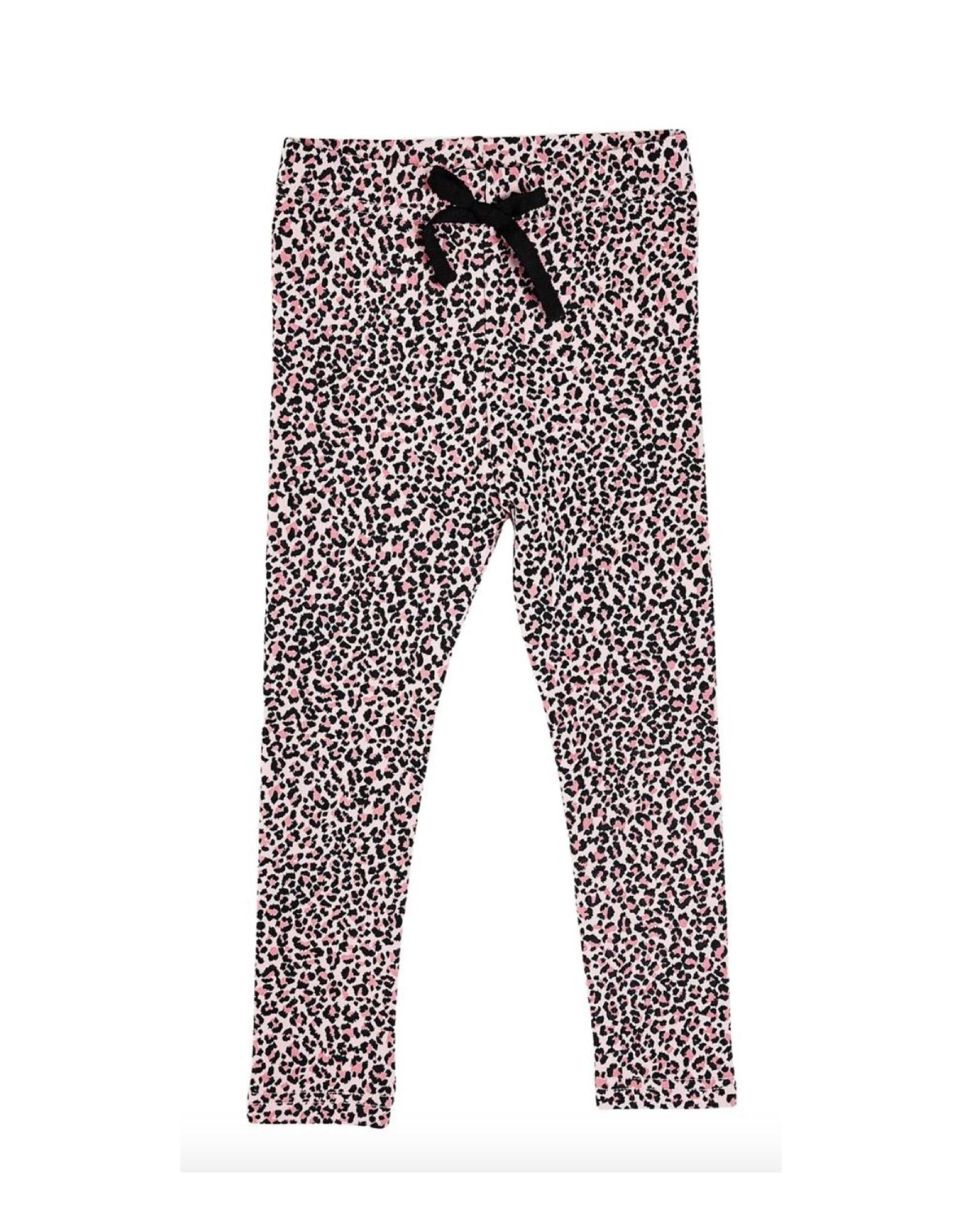 Petite Hailey Pink Leopard Leggings