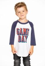 Chaser Brand Baseball Game Day Tee