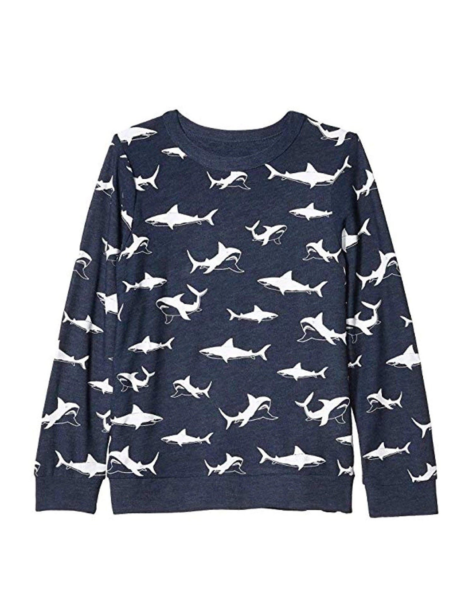 Chaser Brand Happy Sharks Pullover