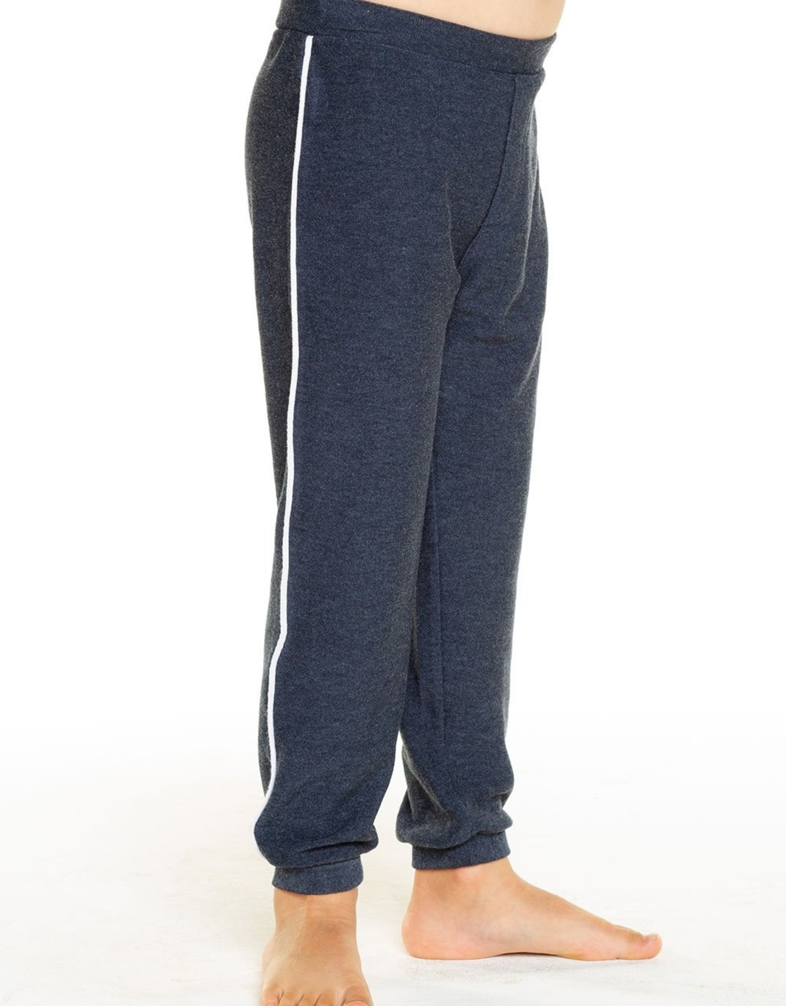 Chaser Brand Navy Piping Lounge Pants
