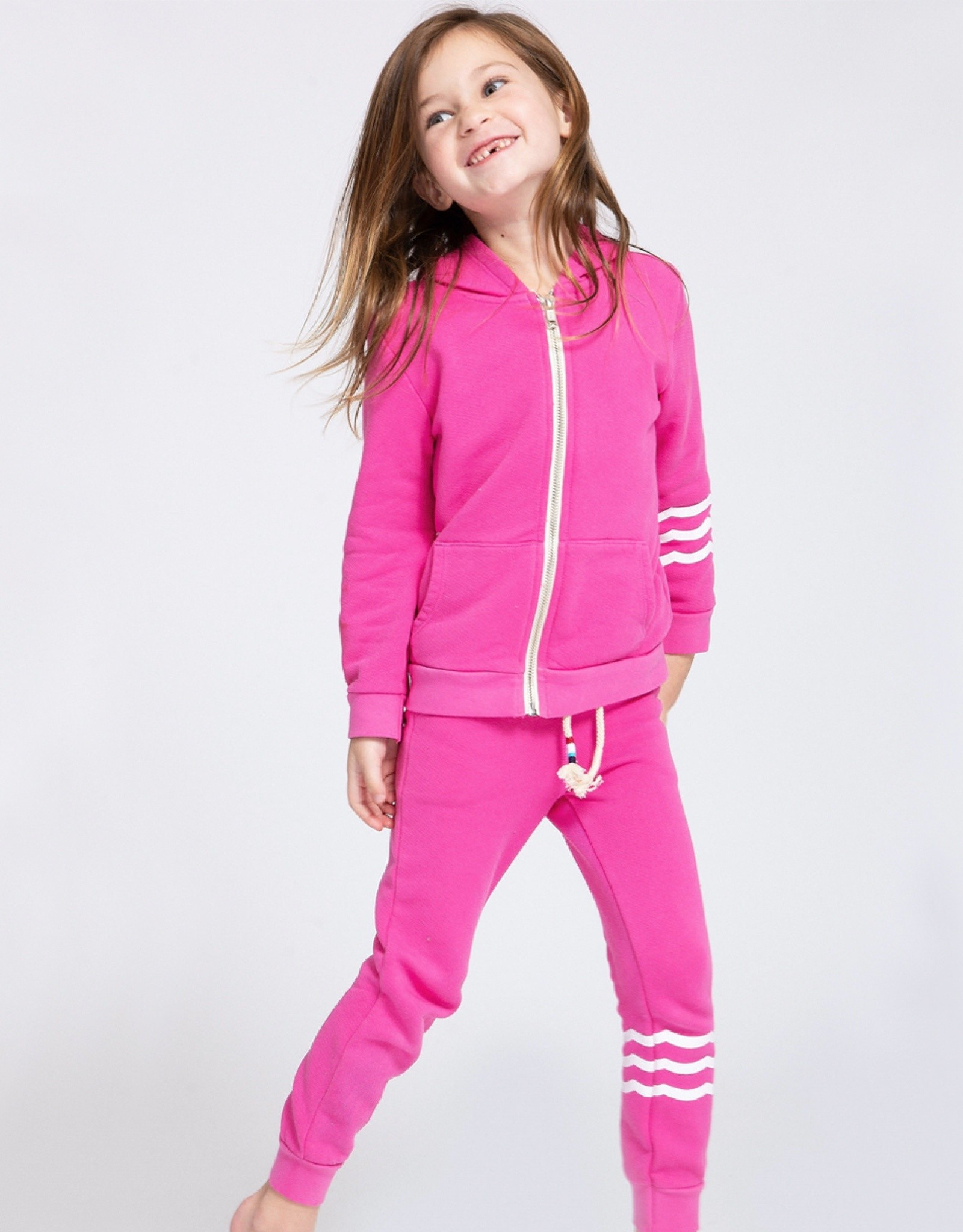 Sol Angeles Hacci Joggers Pink