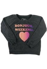 Chaser Brand Bonjour Weekend Pullover