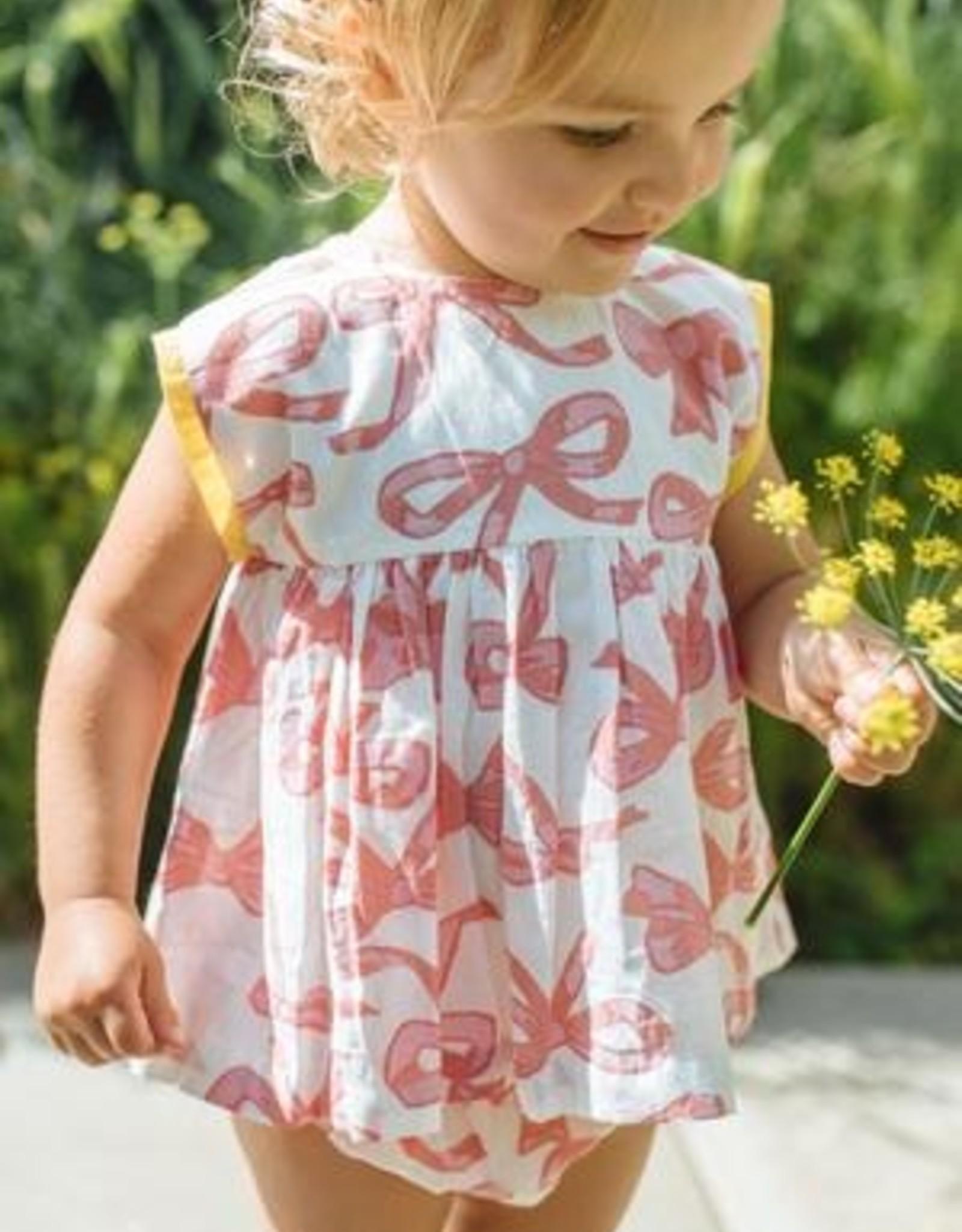 Pink Chicken Mauveglow Bows Dress