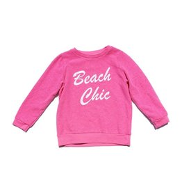 Sol Angeles Beach Pink Pullover