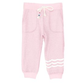 Sol Angeles Hacci Joggers Baby Pink
