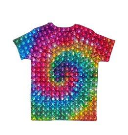 Sticker Beans Tie Dye Shirt