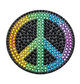 Sticker Beans Rainbow Peace