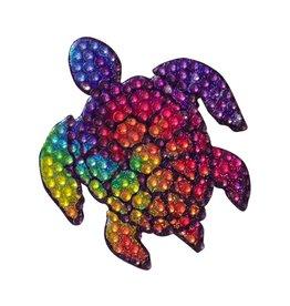 Sticker Beans Tie Dye Turtle