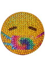 Sticker Beans Tie Dye Emoji Mask