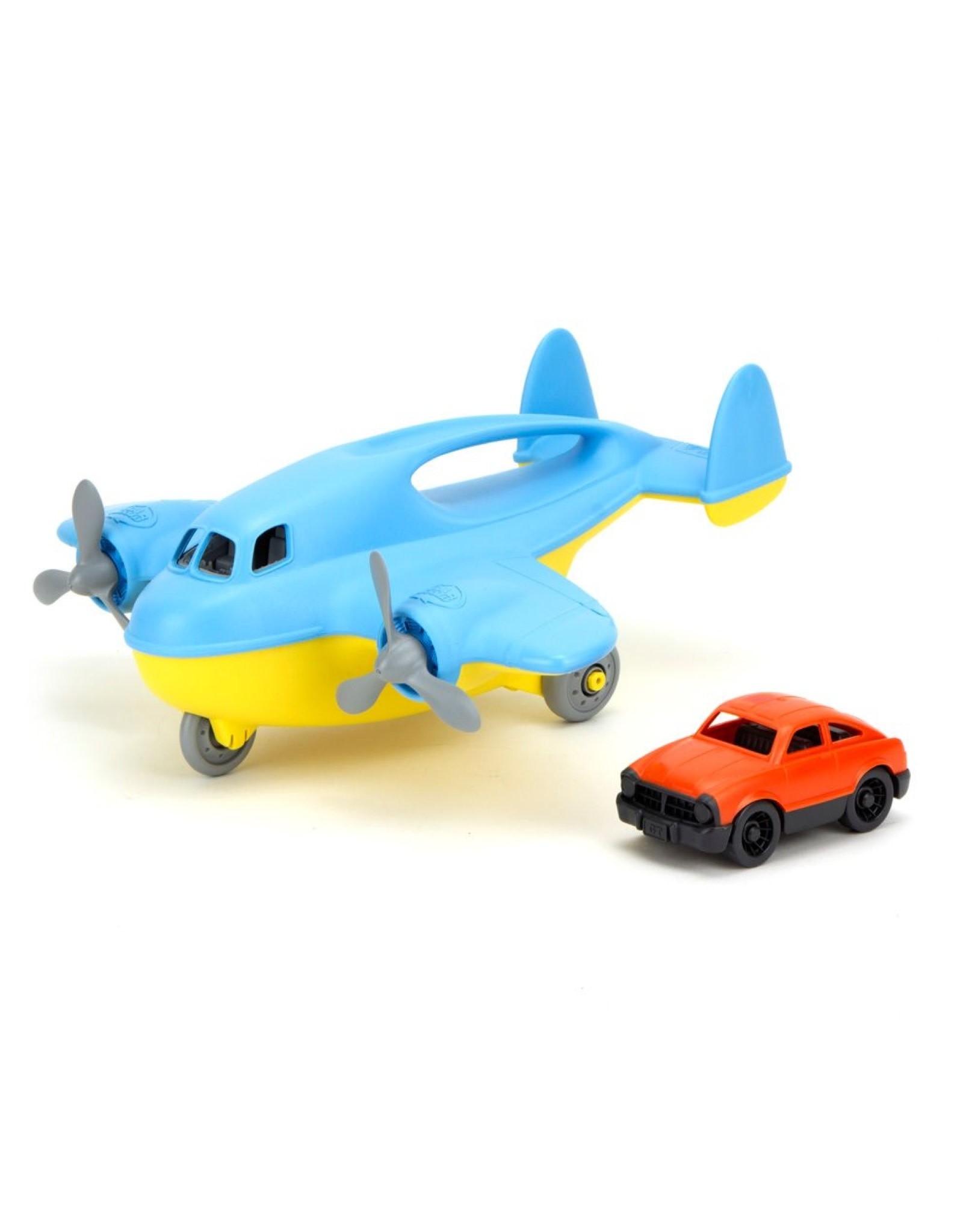 Green Toys Cargo Plane Blue