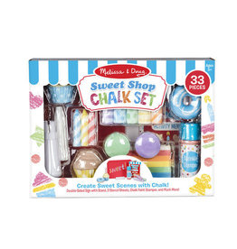 Melissa & Doug Sweet Shop Chalk Set