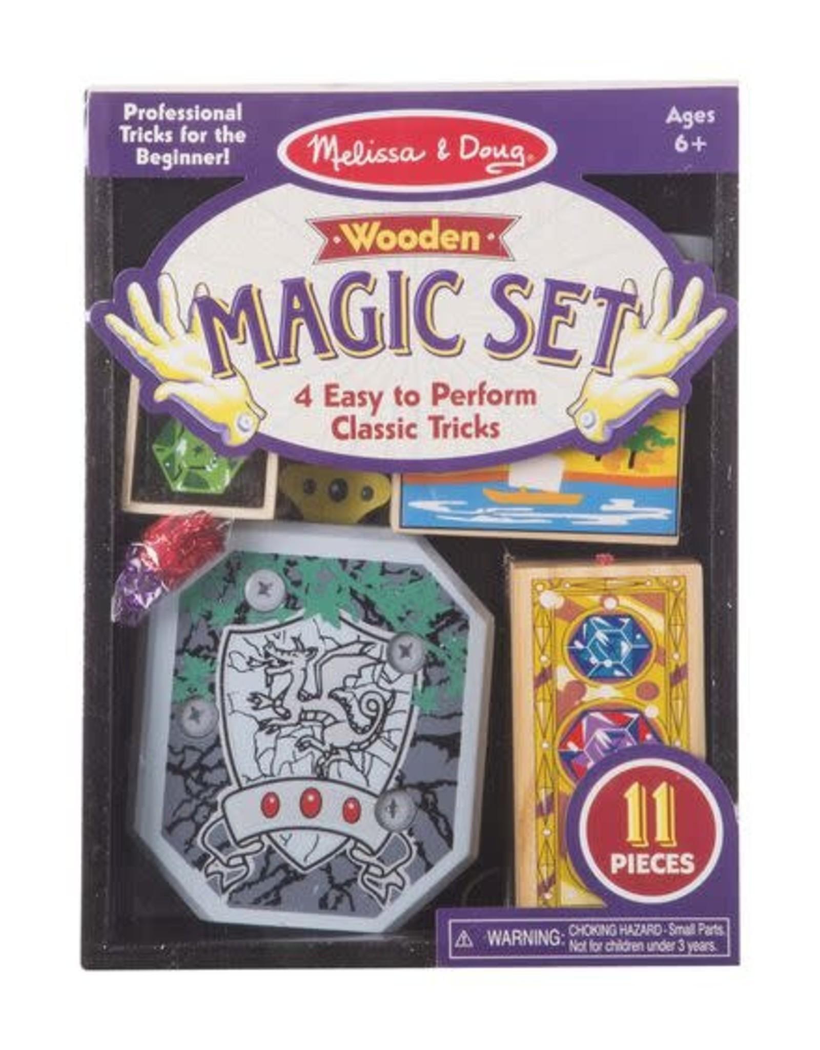 Melissa & Doug Wooden Magic Set