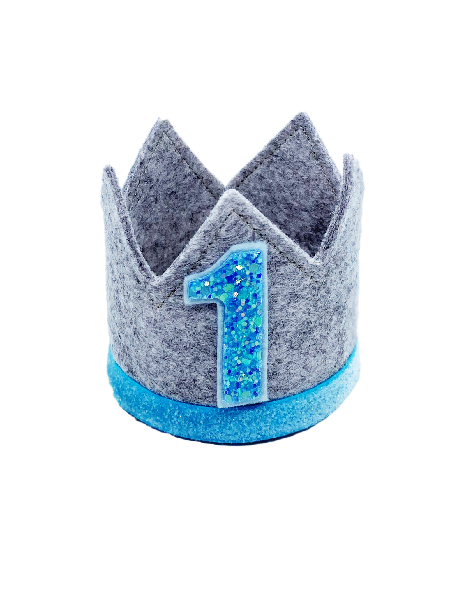 Little Blue Olive Birthday Crown Blue/Gray 1