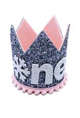 Little Blue Olive Winter Wonderland Crown Pink